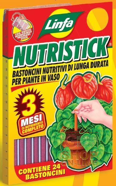 LINFA NUTRISTICK BASTONCINI NUTRITIVI PER PIANTE IN VASO PZ. 24 https://www.chiaradecaria.it/it/microelementi/10127-linfa-nutristick-bastoncini-nutritivi-per-piante-in-vaso-pz-24-8014815004056.html