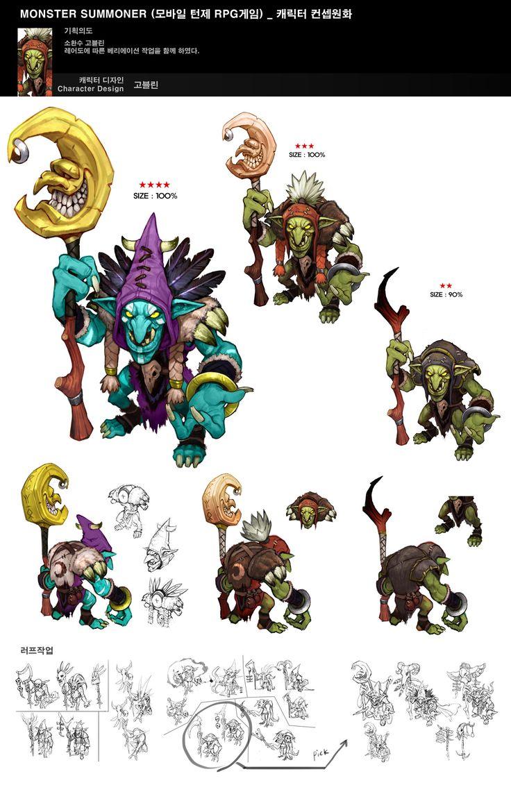 ArtStation - NHN Pixel Cube_Mobile RPG_Creatures, Kim Sung Hwan