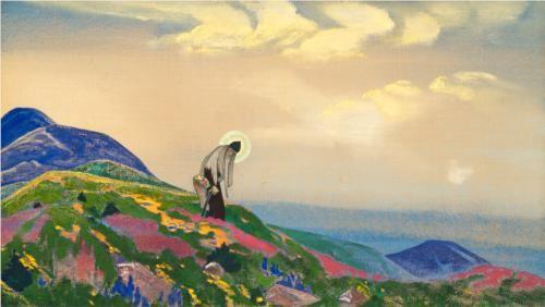 Nicholas Roerich, Saint Pantaleon the Healer (1916)