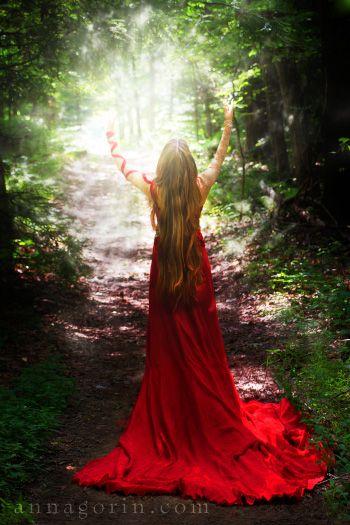 Fairytale Princess | woman sorceress princess portraits portrait photoshoots photography outdoor portraits morgause gown girl forest portrai...