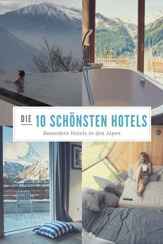 10 der schönsten Berghotels in den Alpen
