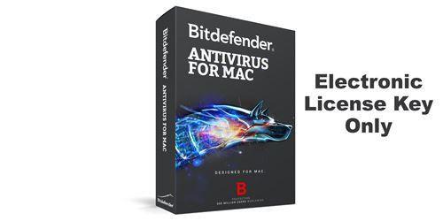 Bitdefender AntiVirus for Mac – Electronic License Key Only