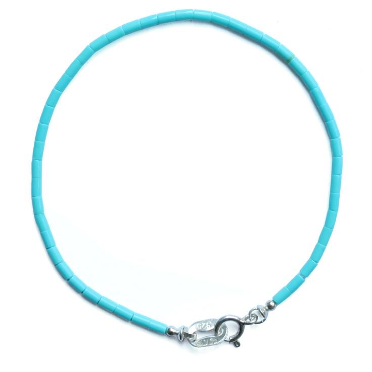 Bracelet Heishy turquoise (Harpo) - Bracelets - Bracelets - Les trouvailles d'Elsa