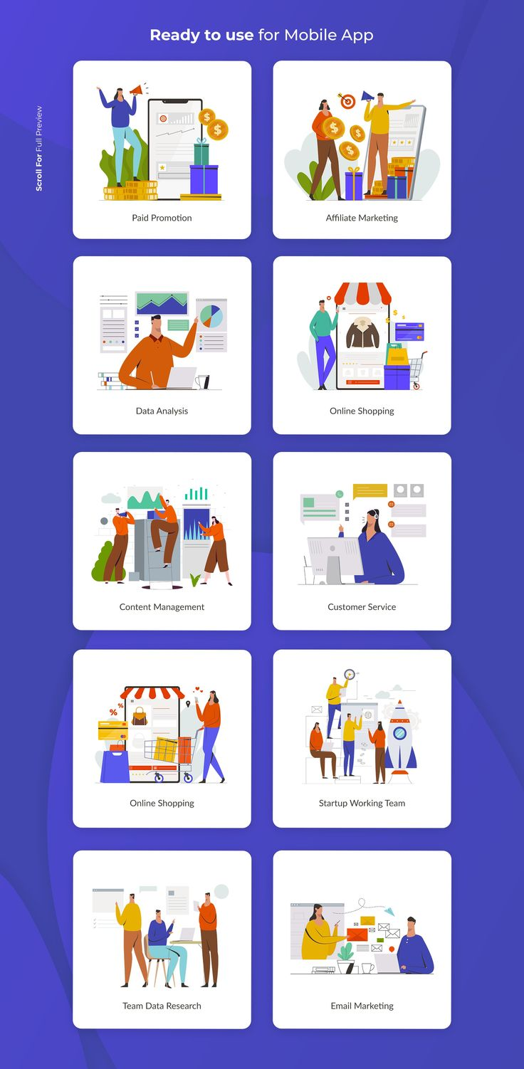 Startup Illustration Pack by Visuel Colonie® on