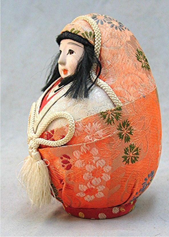 Details about Vintage Darling Japanese Hime Daruma Doll