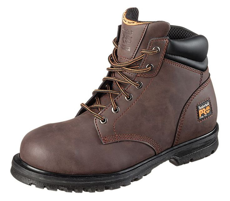 Timberland PRO Grierson 6'' Steel Toe Work Boots for Men - Brown ...