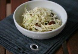 Witte koolsalade met feta en heerlijke dressing | Recept | KookJij