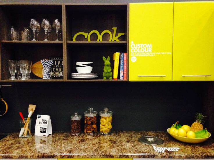 Quirky elements in this cost effective kitchen @ designsbyday.net