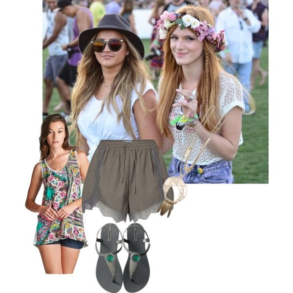 Festival Chic by carene-schroeder on Polyvore featuring GetTheLook and summerstyle