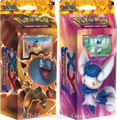 Pok mon Sealed Decks and Kits 183467: Pokemon Pokemon Xy - Flashfire Theme Deck, Display Box (8 Decks) Ccg Mint -> BUY IT NOW ONLY: $99.95 on eBay!
