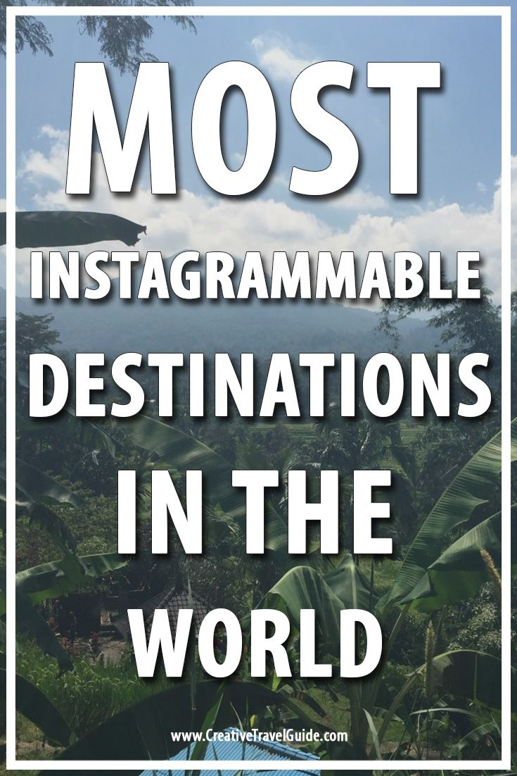 Instagrammable destinations has been sought after for the past few years. We speak with travel bloggers about their most instagrammable destinations.