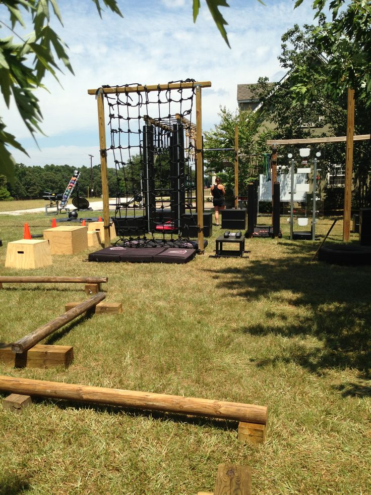 67 Best Home DIY Backyard Fitness Obstacle Course Images On