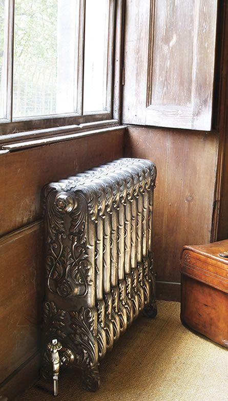 Victorian cast iron radiators enhance any period property.  www.cosebellecharleston.com