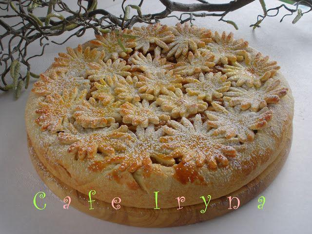 Сafe Iryna: Яблочно-клубничный пирог