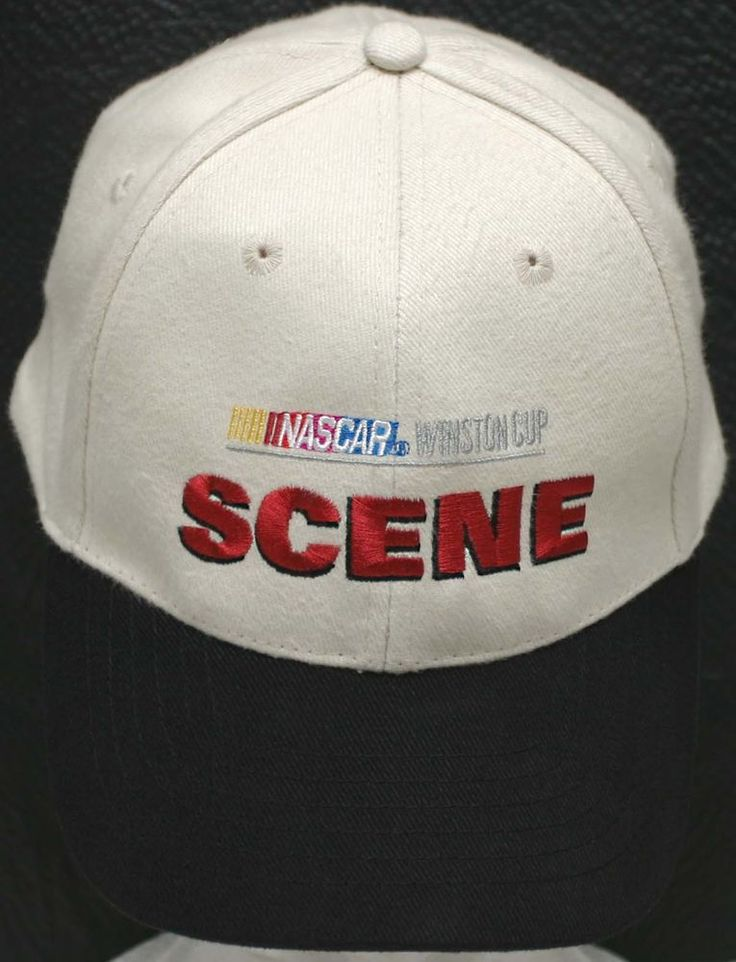 NASCAR 1976-2003 WINSTON CUP SCENE EMBROIDERED CAP/HAT #Unbranded #NASCAR