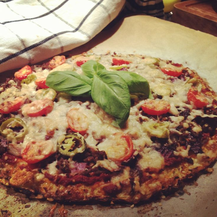 Pizza, porkkanapohja