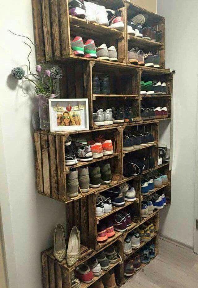 Zalige schoenenkast
