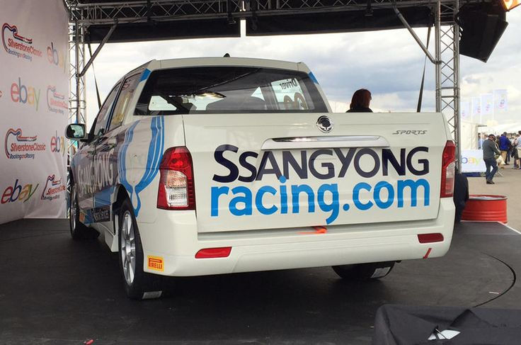 SsangYong Korando Sports pick-up to go racing in Britain in 2017 - http://carparse.co.uk/2016/07/30/ssangyong-korando-sports-pick-up-to-go-racing-in-britain-in-2017/
