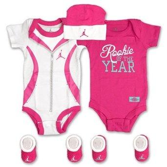 Baju Bayi On Line - Jordan Pakaian Bayi Rookie of the Year Set for Boys and Girls Bayi (Satu Ukuran 0-6 Bulan)   Pusat Baju Bayi Terbesar dan Terlengkap Se indonesia