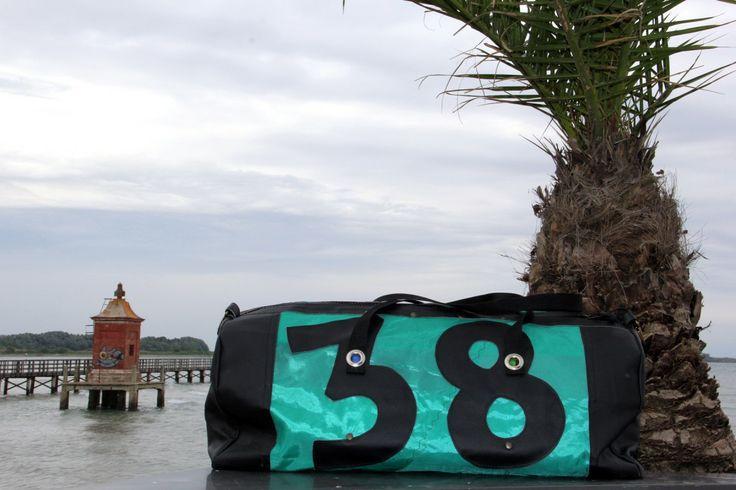 Borsone in vela con numero 38 - Bolina Sail