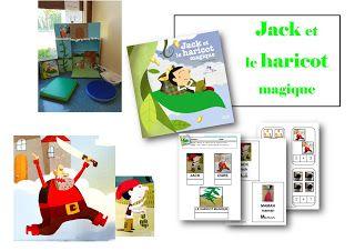 Exploitation pédagogique Jack et le haricot magique maternelle