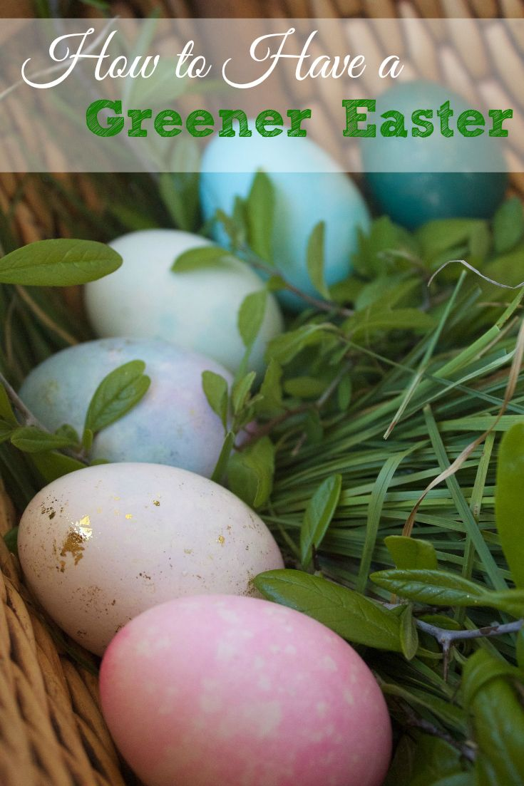 Have a more natural and eco-friendly Easter this year. Check out these great eco-friendly Easter egg ideas.