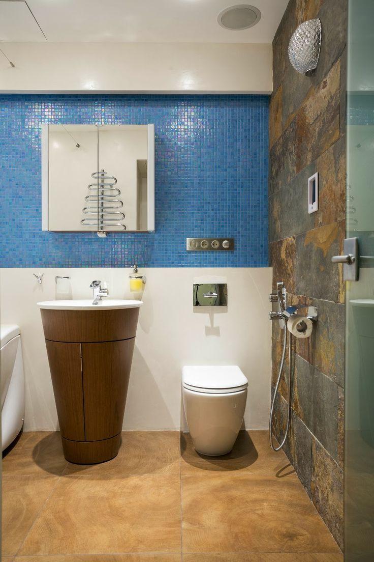 Дизайн однокомнатной квартиры: Футурама в однокомнатной квартире 43.6 кв.м.