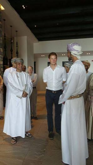 Prince Harry visited Alila Jabal Akhdar on his recent whistle stop tour of Oman with Omran, who shared these fab pics of him at the resort.