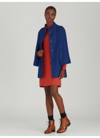 STYLE REPUBLIC | Wool-like Cape Cobalt