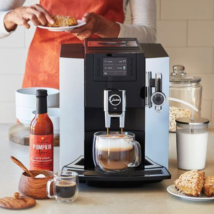 Jura E8 Automatic Coffee Center, available at #surlatable