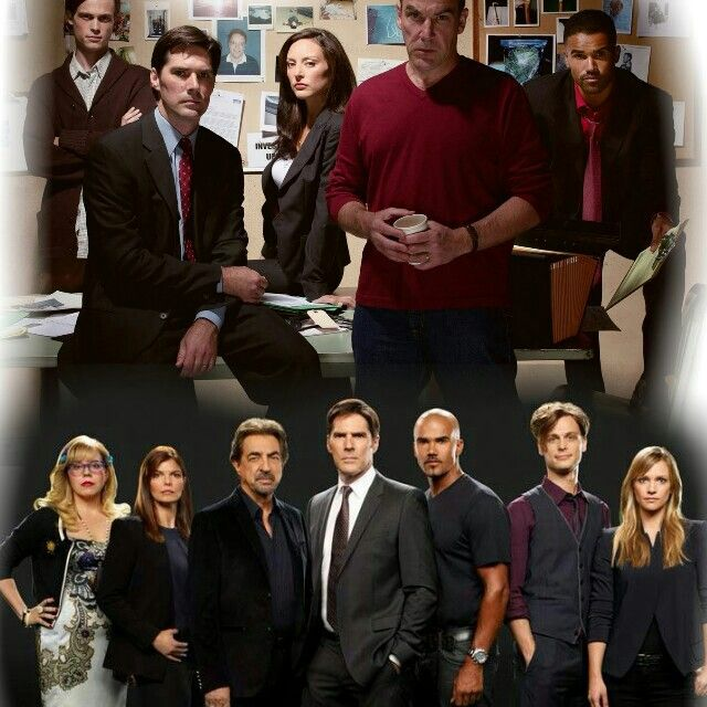 54 Best Images About CRIMINAL MINDS THEN AND NOW On