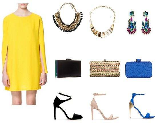 Look comunion vestido amarillo