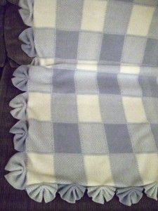 fanfold blanket edging on Grandma Ideas dot com