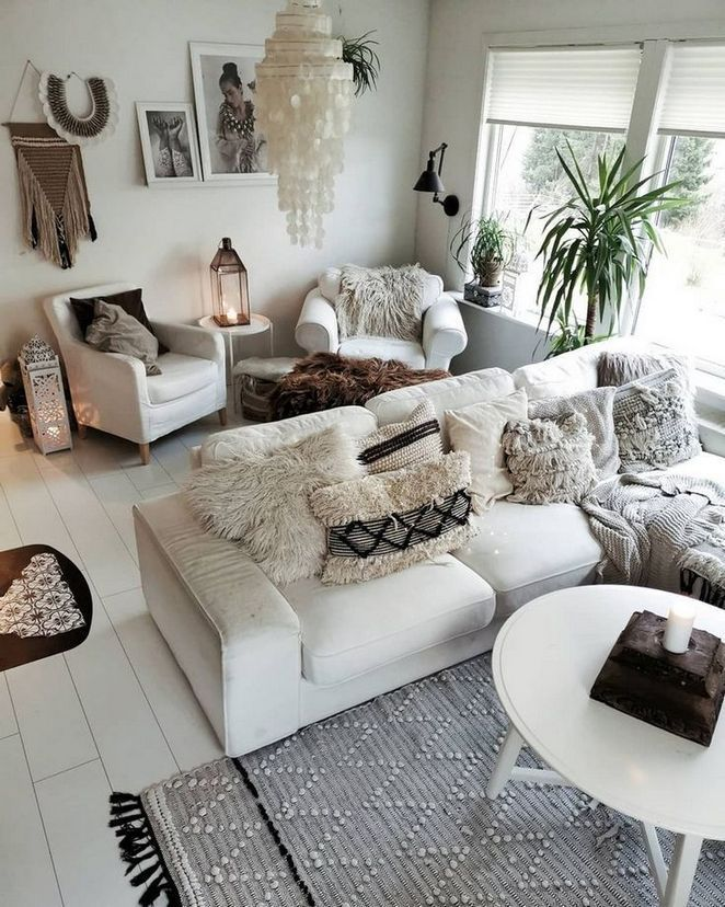 Shabby Chic Boho Chic Boho Living Room Ideas