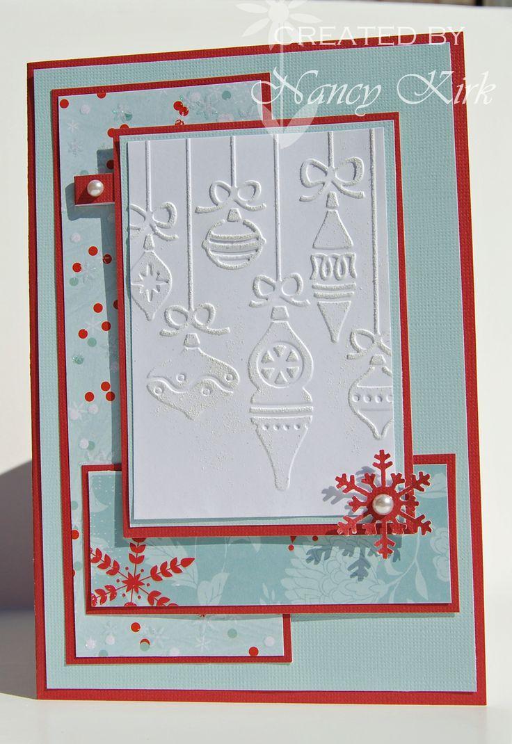 Card Making Ideas Using Cuttlebug Part - 16: Cuttlebug Christmas Card Ideas - Google Search