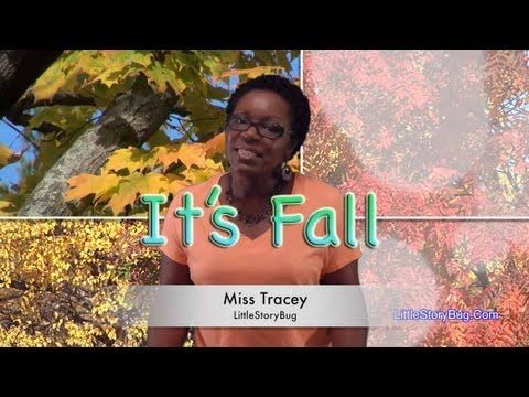 Preschool Song - It's Fall - LittleStoryBug
