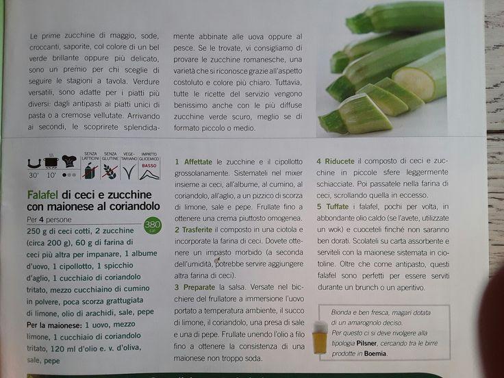 Felafel di ceci e zucchine
