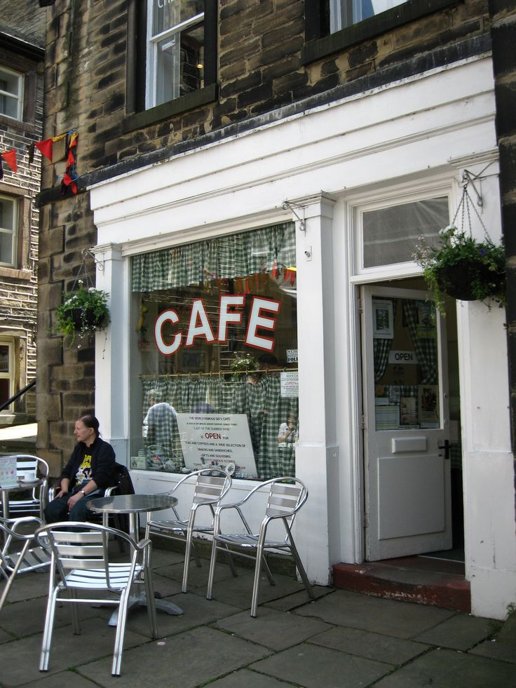 Sid's Cafe - Holmfirth, Enlgand. Last of the Summer Wine