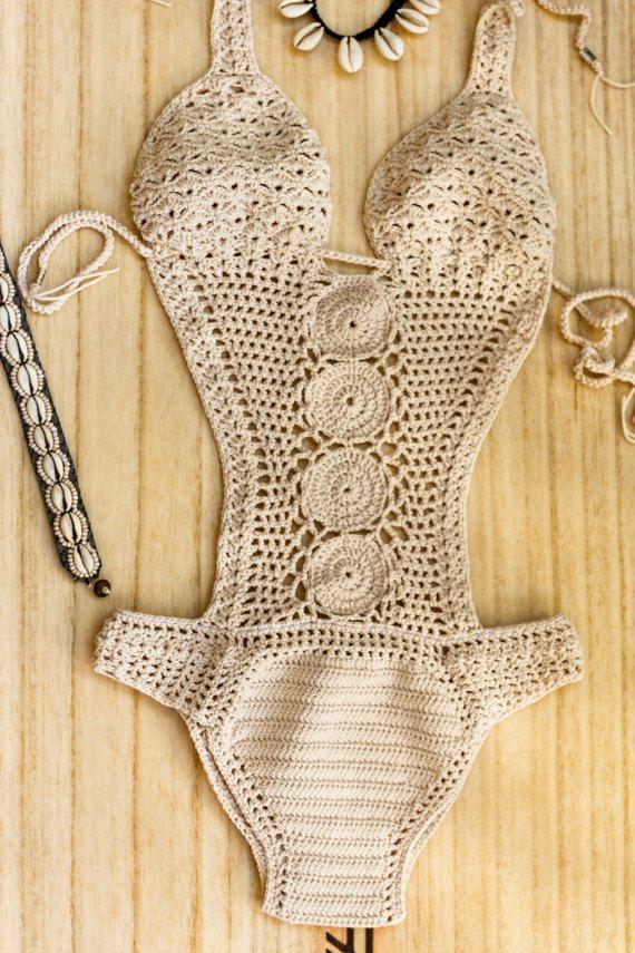 Bikini brasileño Crochet Crochet Bikini Crochet Bathsuit