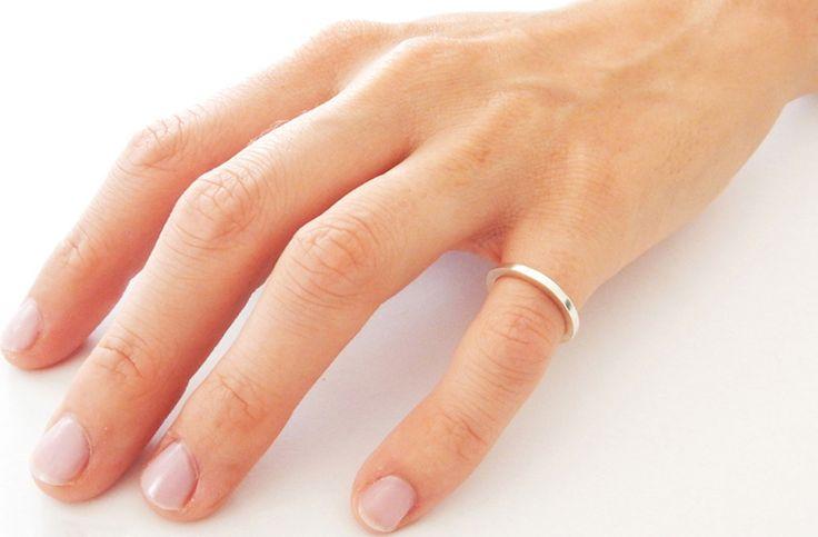 Handmade SENSES Plain Band Sterling Silver