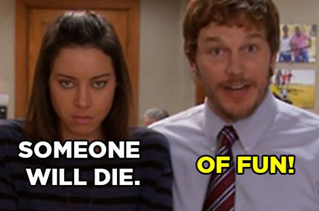 What % April Ludgate And What % Andy Dwyer Are You?