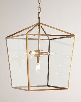 Regina Andrew Design Camden Five-Light Lantern, Brass from Horchow | BHG.com Shop