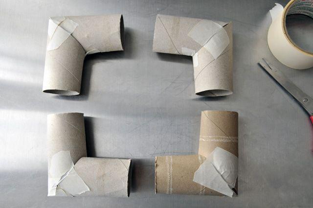 toilette paper roll wreath form