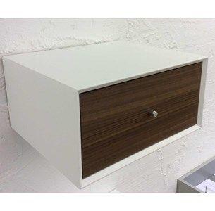 Sengebord Box med 1 skuffe til vægophæng