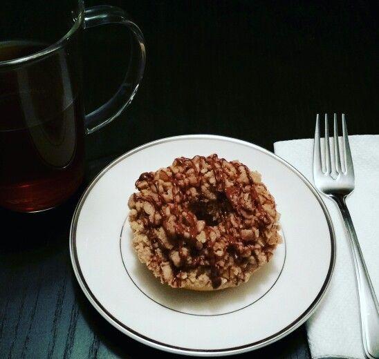 Coffee cake donut