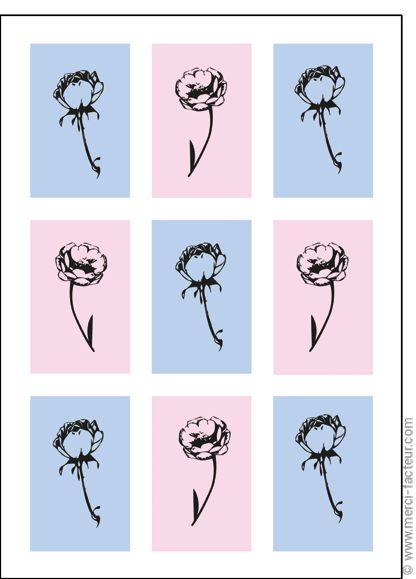 #carte #dessin #photo #squelette #fleurs #toussaint #bouquet #card #calavera #skull #flowers #drawing #allsaints Carte Fleurs � l'encre de Chine pour envoyer par La Poste, sur Merci-Facteur !