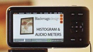 BMPCC Histograms and Audio Meters, Firmware Update 1.9.3