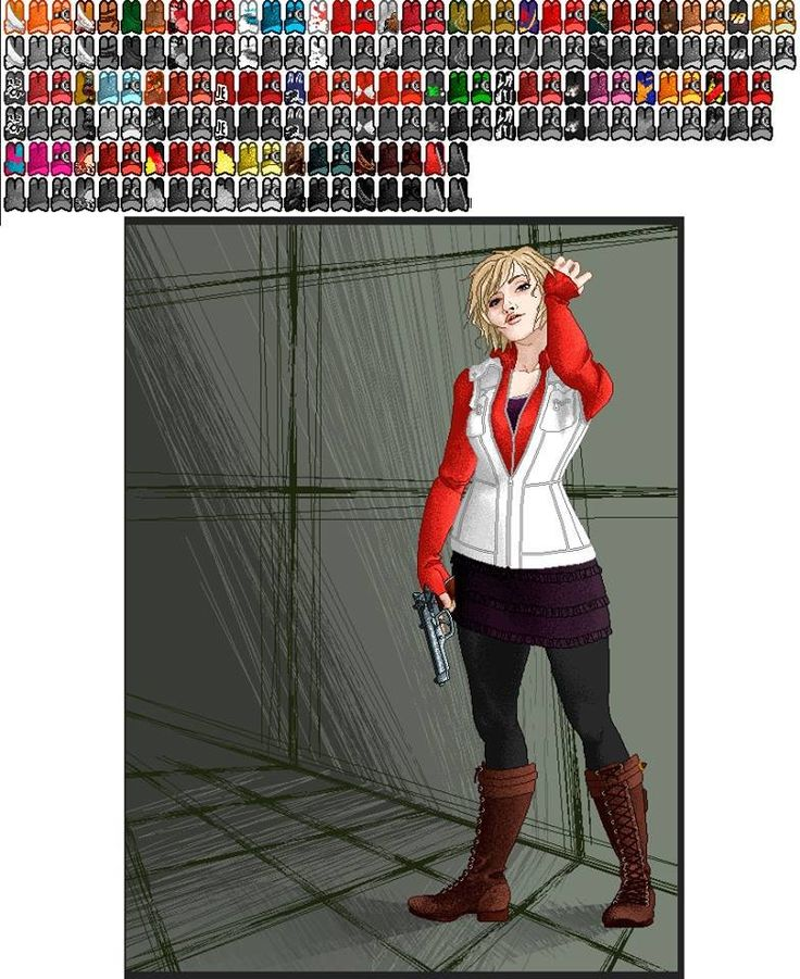 A cool dress up game for Heather Mason from Silent Hill | Konami Games News and Information Blog  http://konami-news.com/entries/dress-up-games/a-cool-dress-up-game-for-heather-mason-from-silent-hill