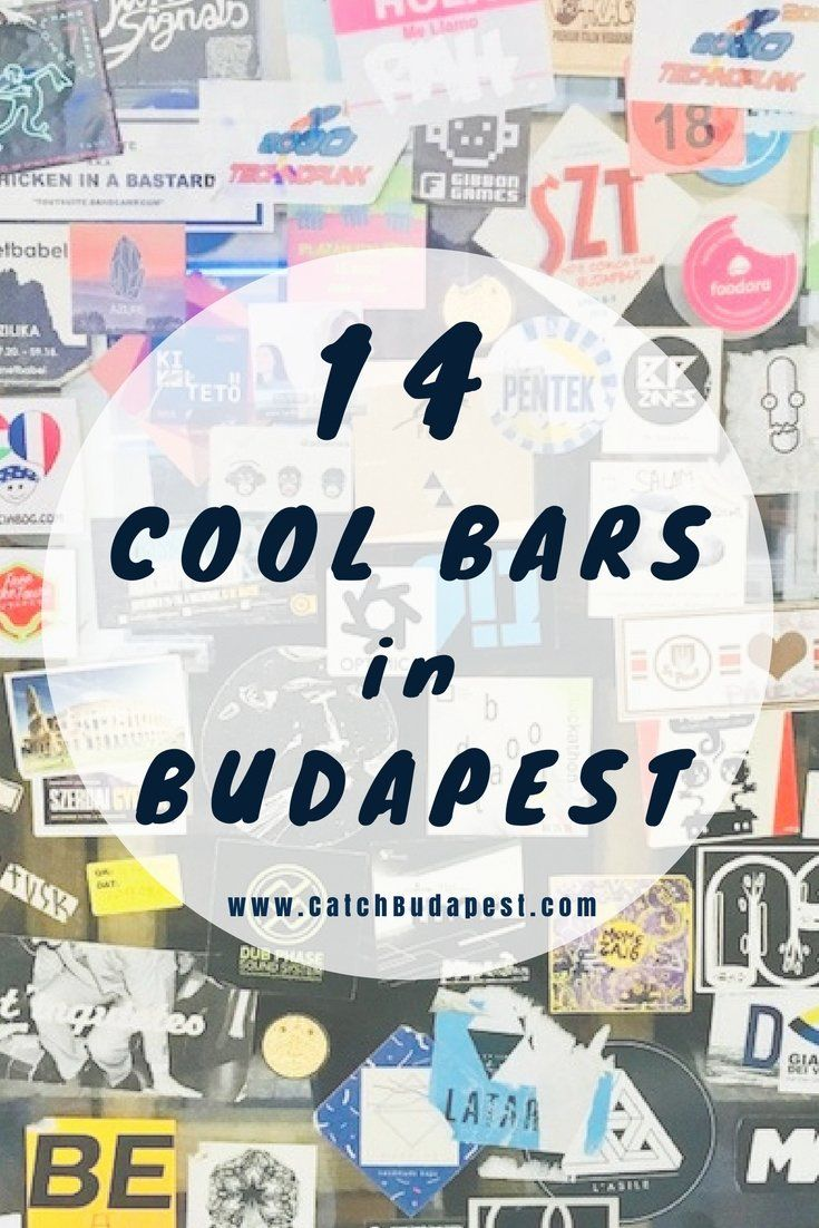 14 Cool Bars in the Budapest Party District. Since party-tourists and stag doers(and their bodily fluids) started flooding the inner city, the Budapest party district is somewhat over the hill - at least for us locals. Not all is lost though, especially if you check out these 14 hassle-free bars that kept their cool over the years!  #Budapest #cool #bars #CatchBudapest