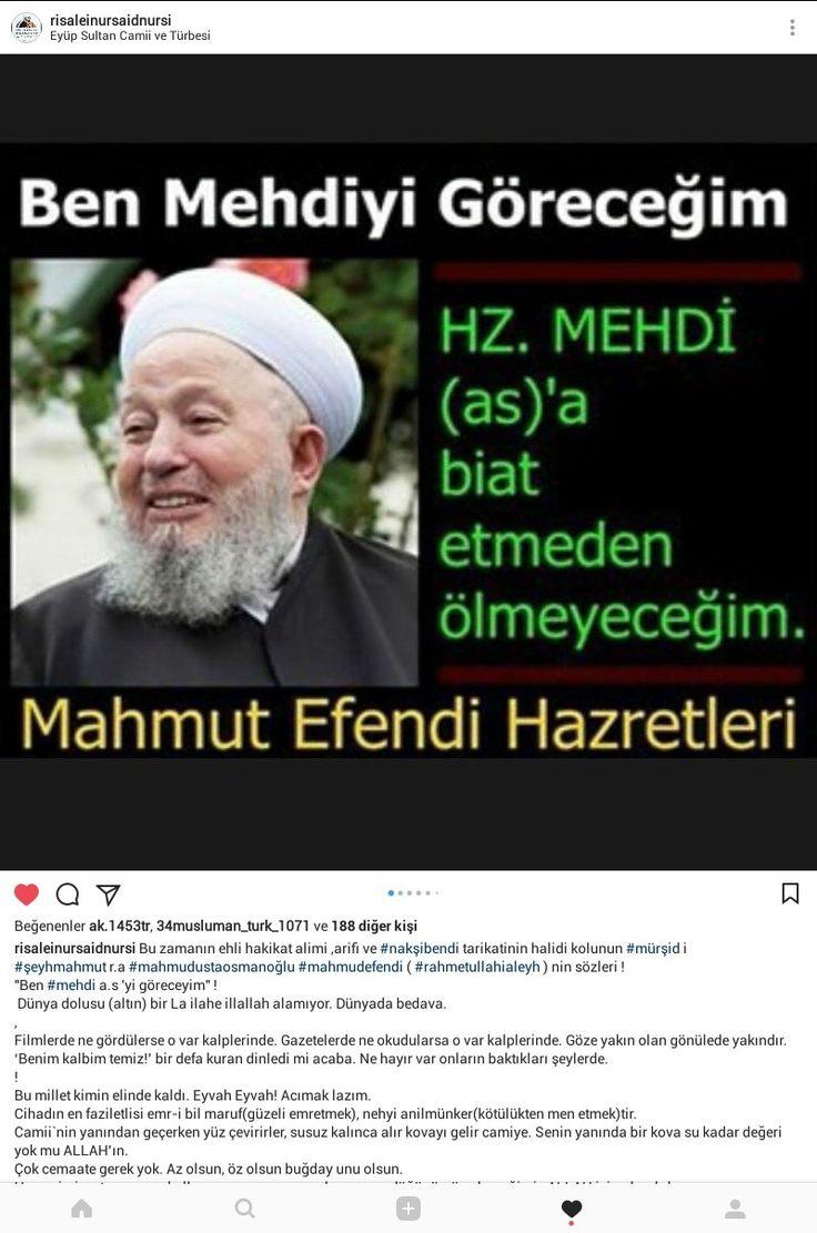 """#hzmehdi #radiyallahuanh gelecek inşâellah görür bedir ashabı sayisı olan 313 tane olacak komutanlarından birisinin sancsgı altinda oluruz.. -- Hz. Peygamber-i Ekrem (s.a.a) şöyle buyurmaktadır: """"Vaadedilmiş Mehdi bizdendir. Allah Teala onun işlerini bir günde yoluna koyacaktır."""" [7]  El- Havi lil Fetava, Siyuti, c.2, s.124. -- Hz. Sadık (a.s) şöyle buyurmuştur: """"Sahib-ul Emr'in doğumu insanlara gizli kalacaktır. Ta ki zuhur ettiğinde hiç kimsenin bey'atı boynunda kalmasın. Allah Tealâ onun…"""